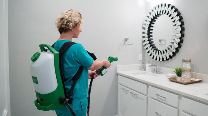 Spray Disinfection Amp Deodorization Service